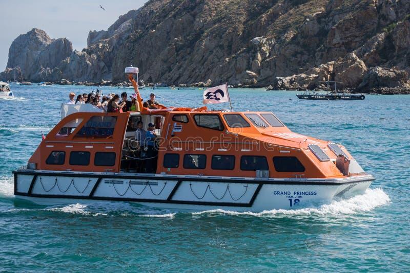 Cruise Ship Tender royalty free stock photos