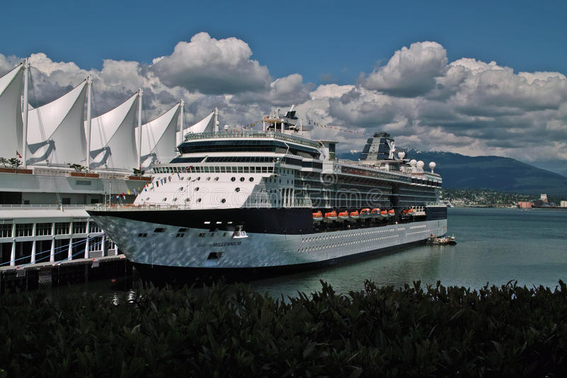 Download Cruise Ship, Vancouver BC Canada Editorial Stock Image - Image: 31882659