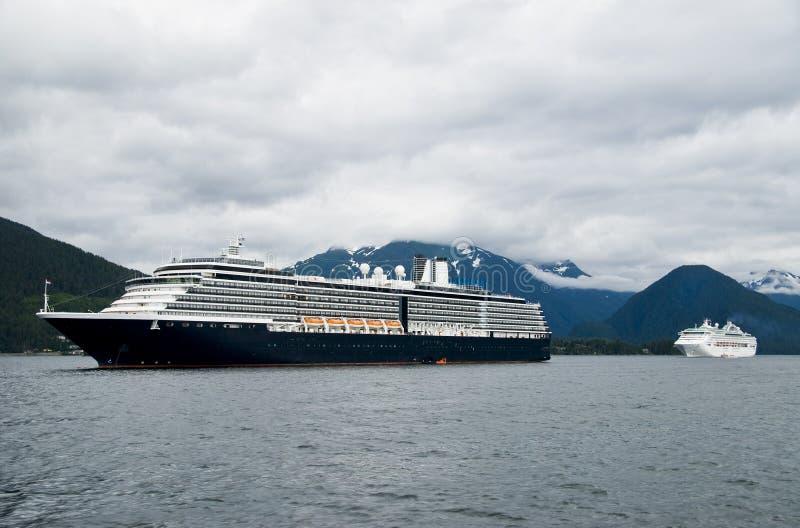 Cruise Ship View Alaska stock photography