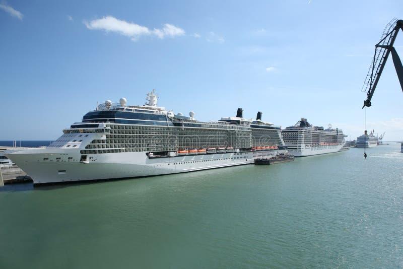 Download Cruise Ships stock photo. Image of ship, huge, marine - 16399920
