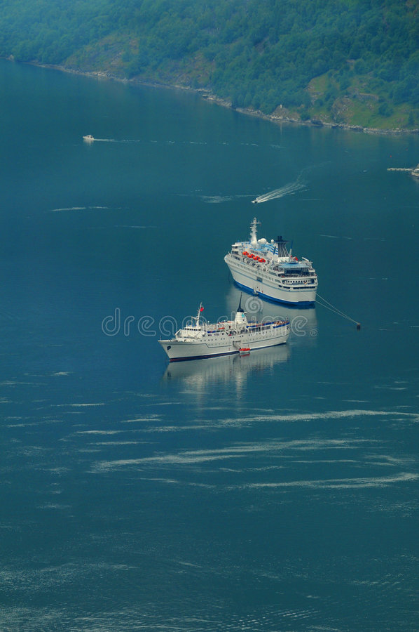 Download Cruise Ships stock image. Image of transport, ships, scenic - 5771403