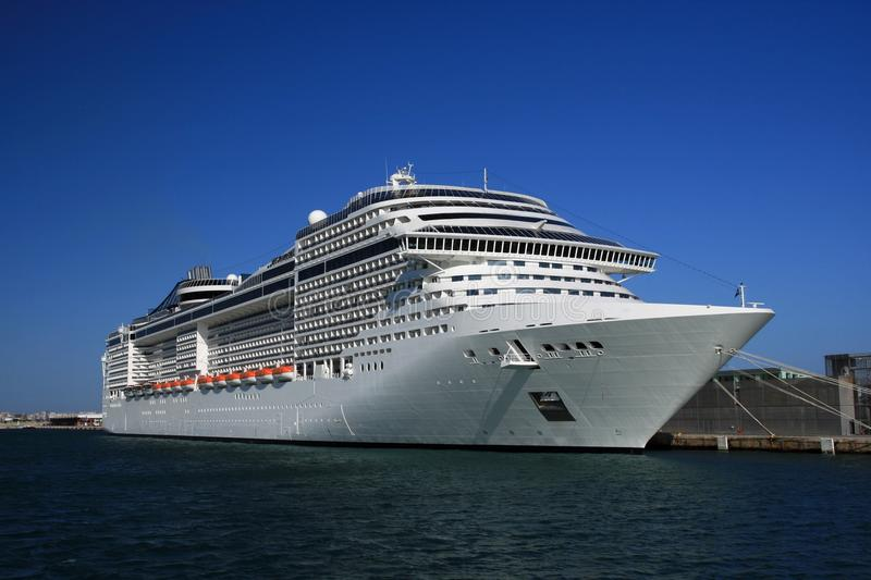 Download Cruise tied up stock image. Image of inspirational, coast - 17566203