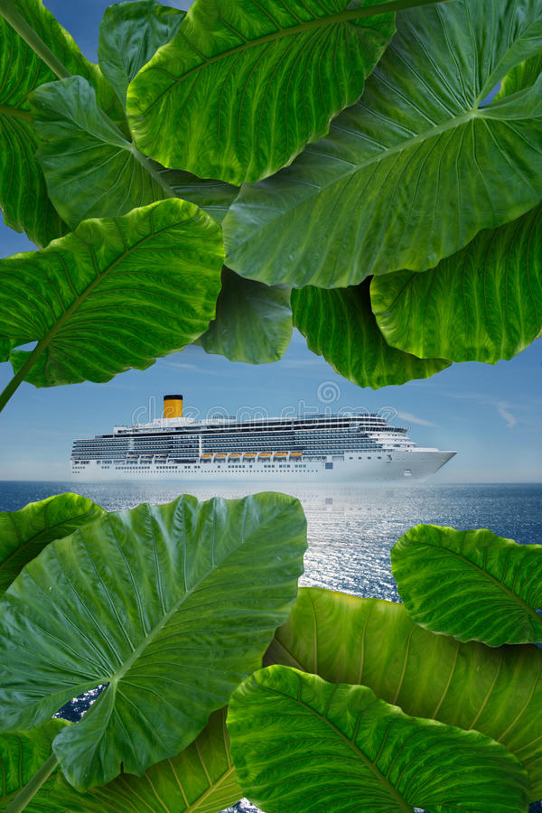 Download Cruise to paradise stock image. Image of paradise, lost - 14430319