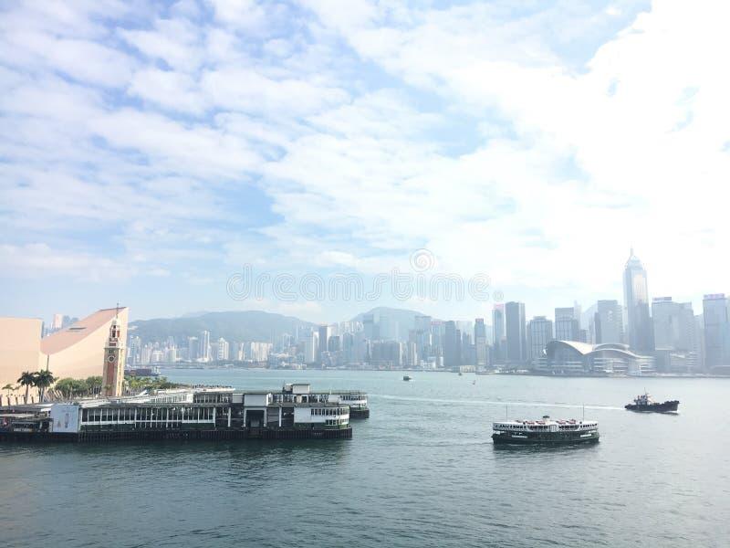 Cruise in TST HK stock photos