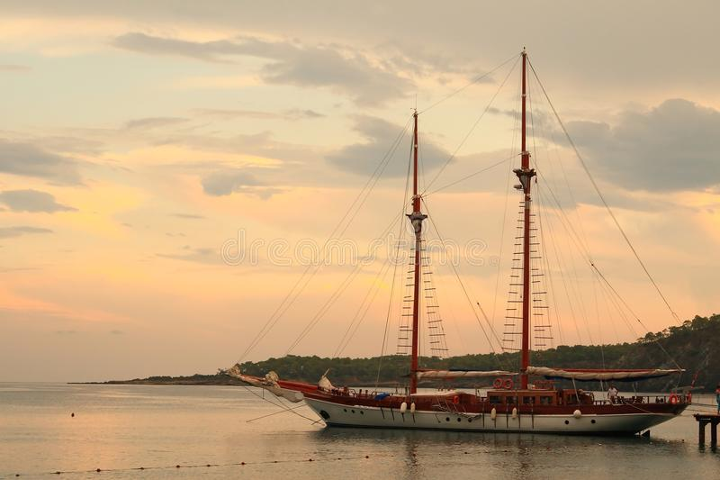 Cruise in Turkije royalty-vrije stock afbeelding