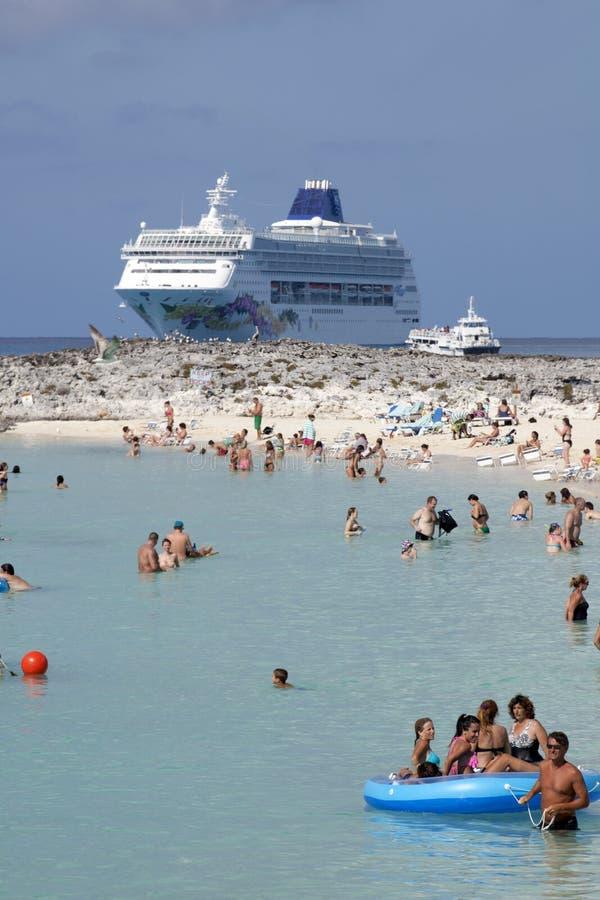 Cruise Vacation Editorial Stock Photo
