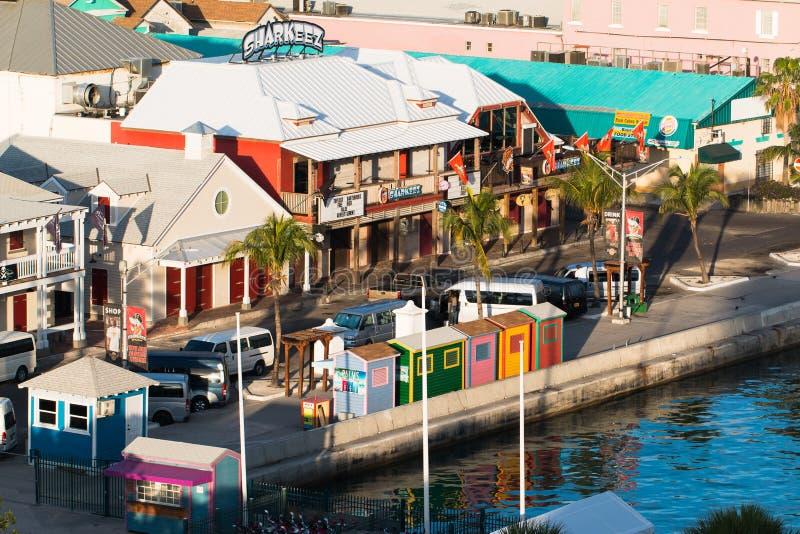 Cruisehaven Nassau royalty-vrije stock fotografie