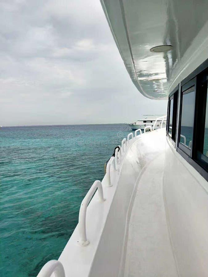Cruises in the Mediterranean stock photo