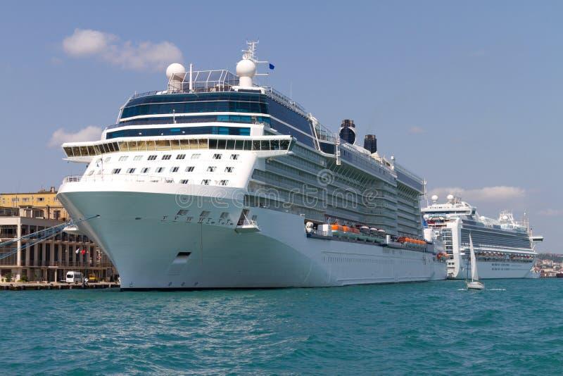 Cruises van de Haven van Istanboel stock afbeelding