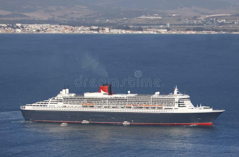 Cruiseschip royalty-vrije stock afbeeldingen