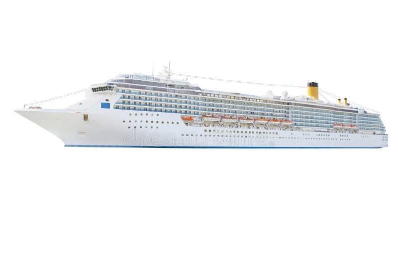 Cruiseschip stock afbeelding