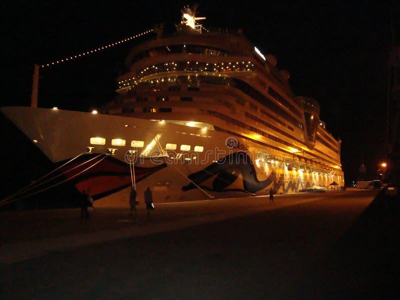 Cruiseschip, royalty-vrije stock foto's