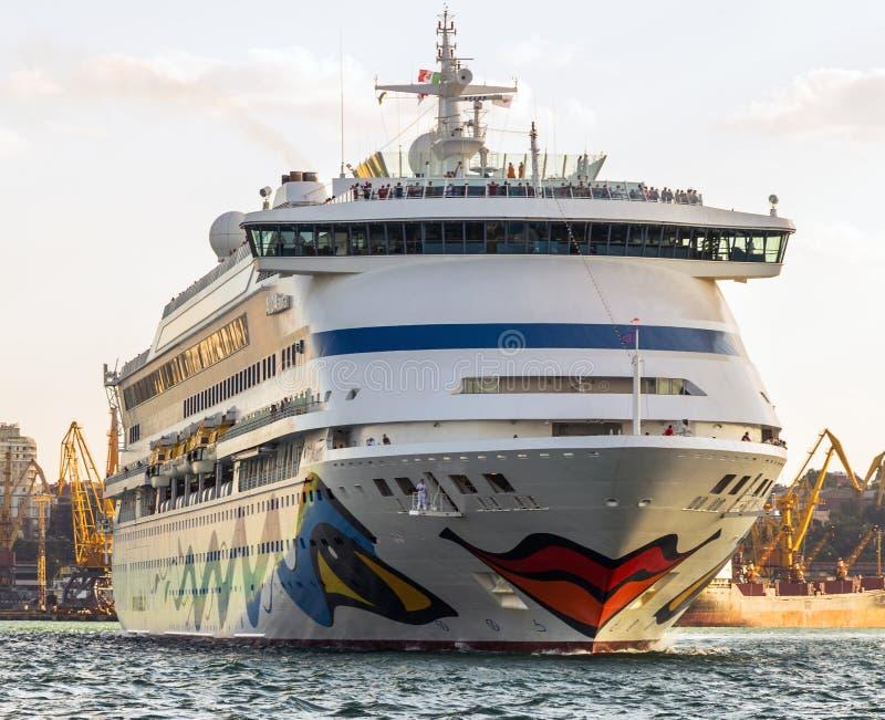 Cruiseschip Aida Aura royalty-vrije stock afbeeldingen