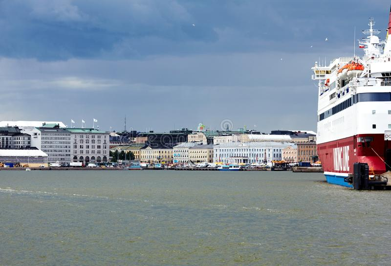 Cruiseschip Viking Line stock fotografie