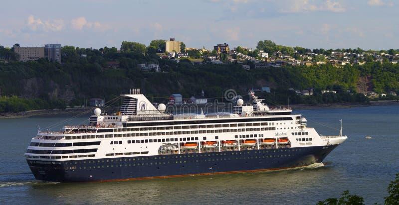 cruiseship 免版税库存图片