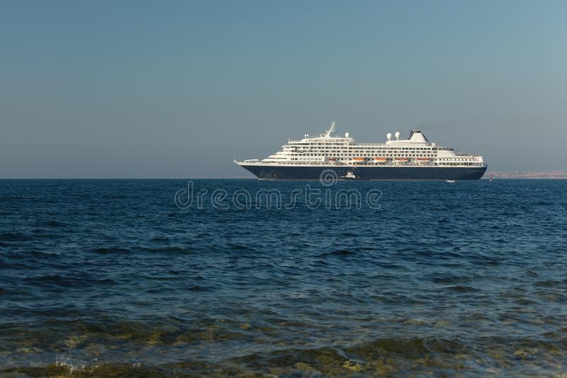 Cruiseship fotos de archivo libres de regalías