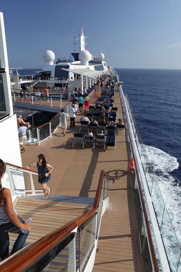 Download Cruiseship deck view editorial photo. Image of nautical - 23543371