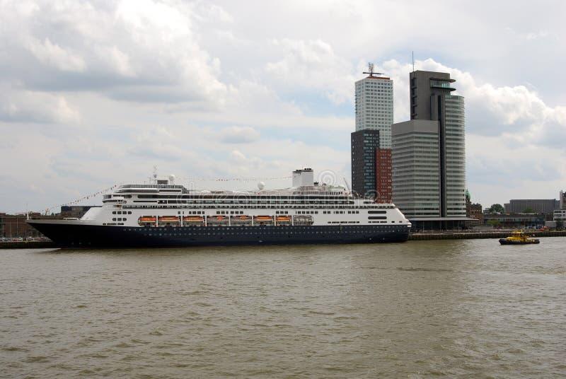 cruiseship Rotterdam obrazy stock