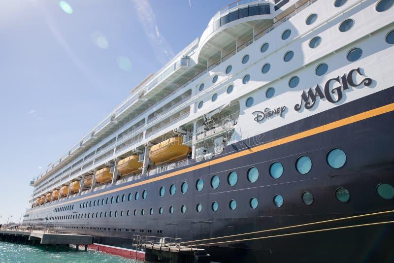 Cruisevoering Disney Magisch in Key West stock foto