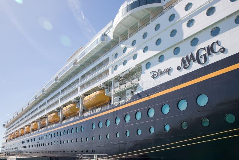 Cruisevoering Disney Magisch in Key West, Florida royalty-vrije stock fotografie