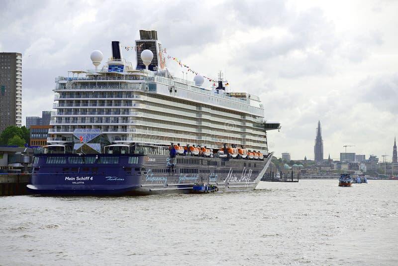 Cruisevoering Valletta stock foto