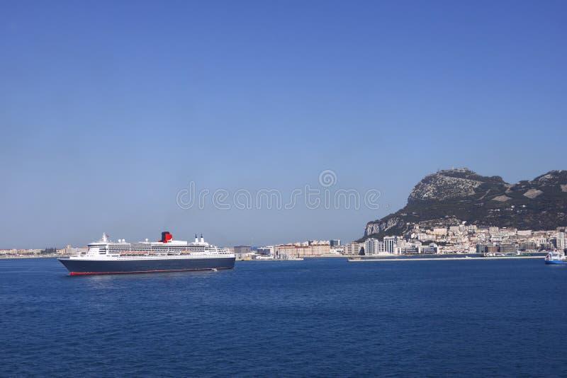 Cruisezeegezicht royalty-vrije stock afbeelding