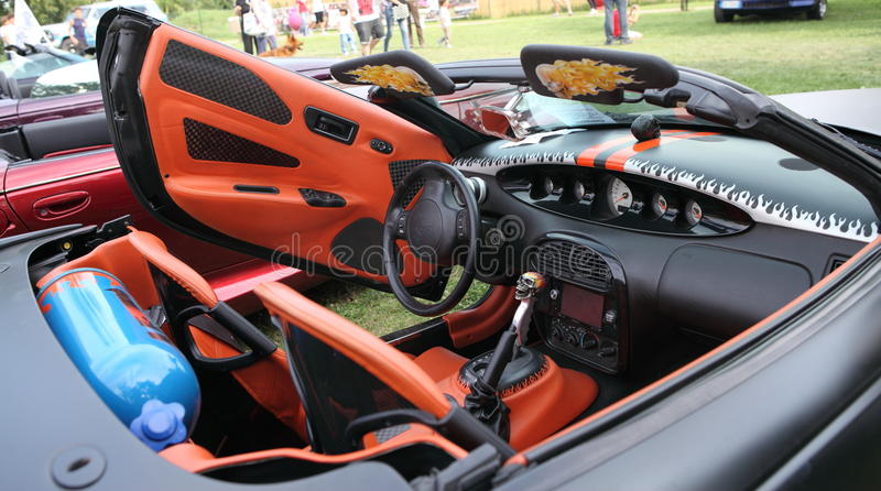 Cruisin 'Rodeo 2014 royalty free stock images