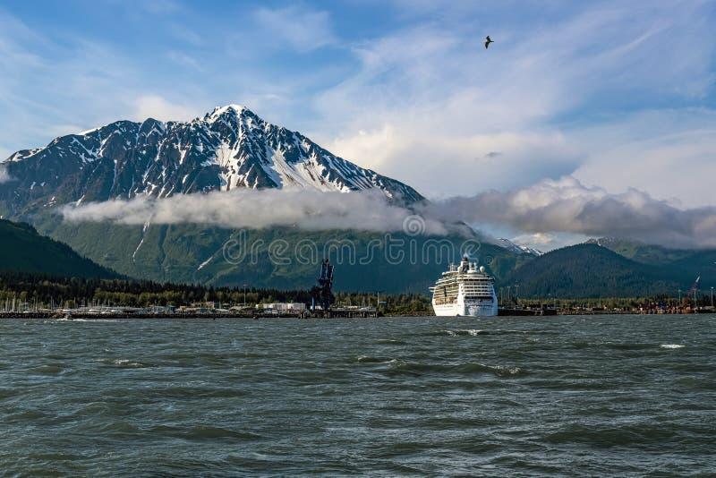 Cruising Alaska stock foto's
