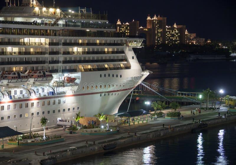 Cruising in Bahamas royalty free stock photography