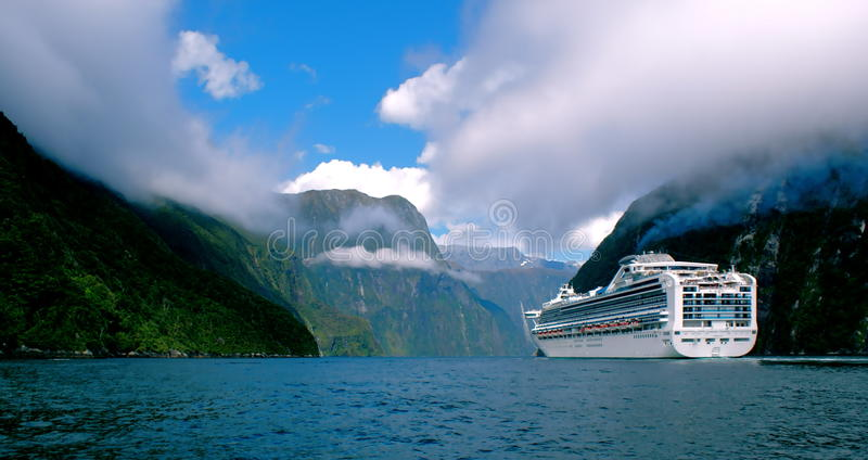Cruising Through the Clouds stock photography