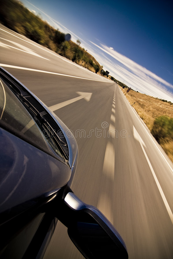 Cruising The Countryside Royalty Free Stock Images