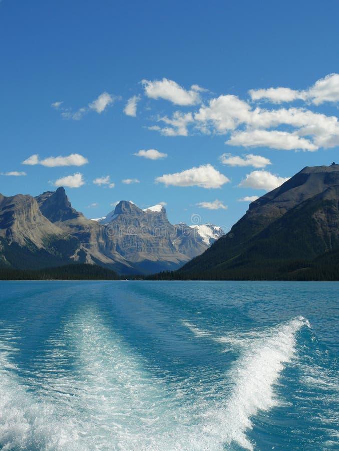Cruising on the lake royalty free stock images