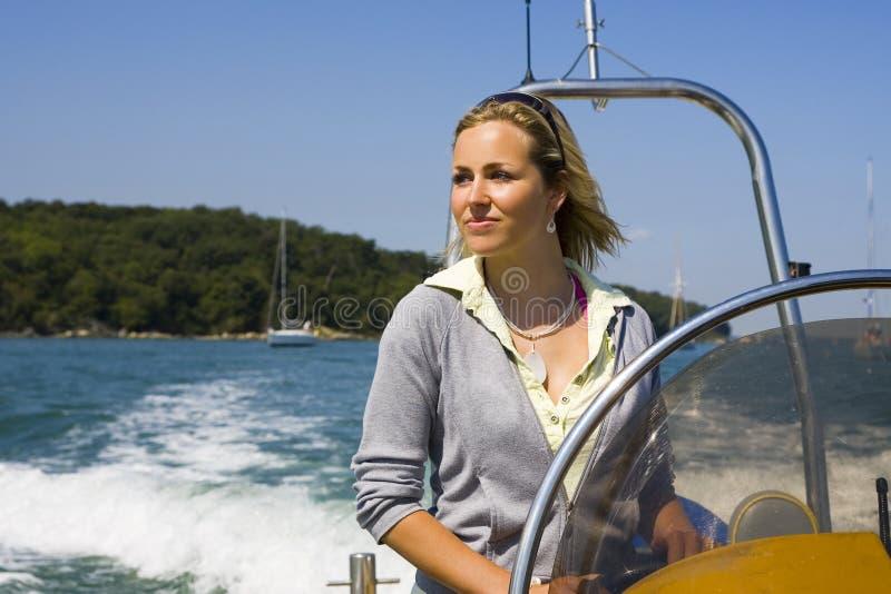 Cruising The Med stock photo