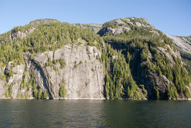 Download Cruising In Misty Fiords National Monument Stock Photo - Image of inlet, background: 75404790