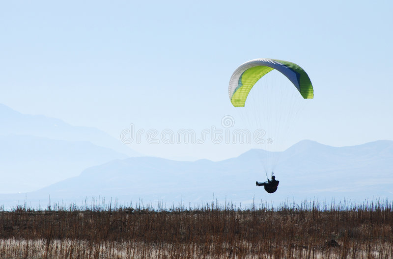 Download Cruising Paraglider stock image. Image of recreation, outdoors - 7101629