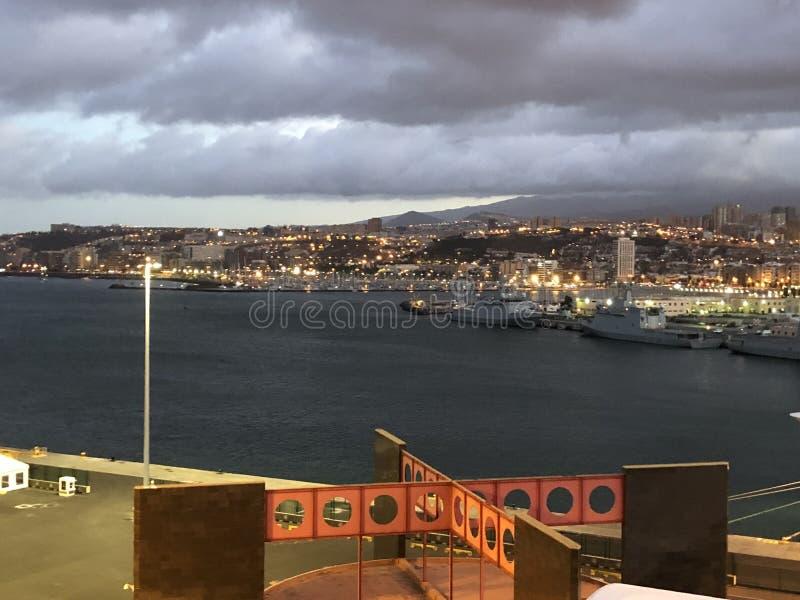 Cruisship моря стоковые фотографии rf