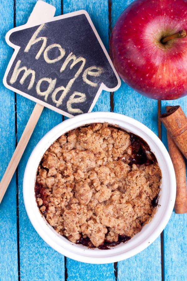 Crumble Яблока стоковые фотографии rf