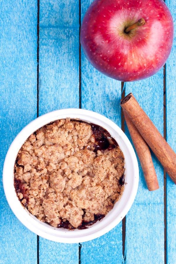 Crumble Яблока стоковое фото rf