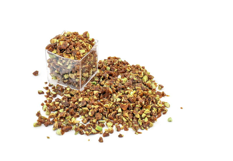 Download Crumbled Crunchy Caramelized Pistachio Stock Image - Image of delicious, ingredient: 24124273