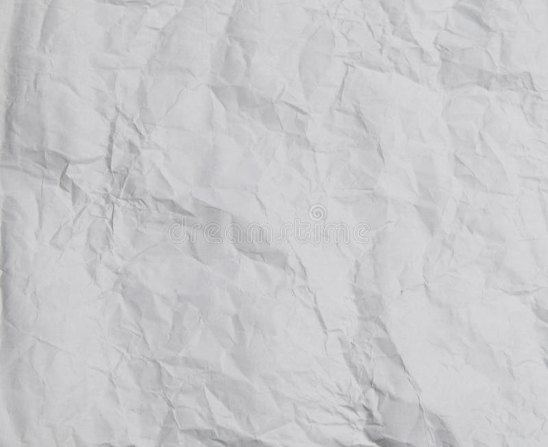 Crumbled white print paper Texture. S high definition royalty free stock photos