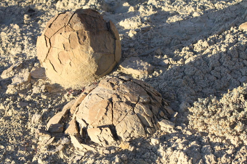 Crumbling Concretions. Molen Reef, Utah royalty free stock image