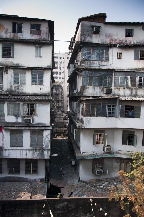 Crumbling Kolkata stock images