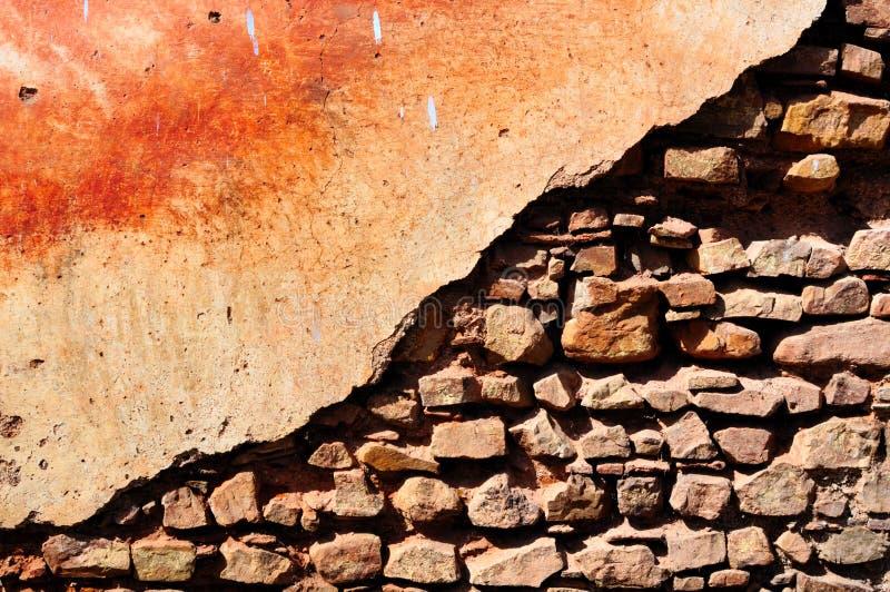 Crumbling Wall stock photos