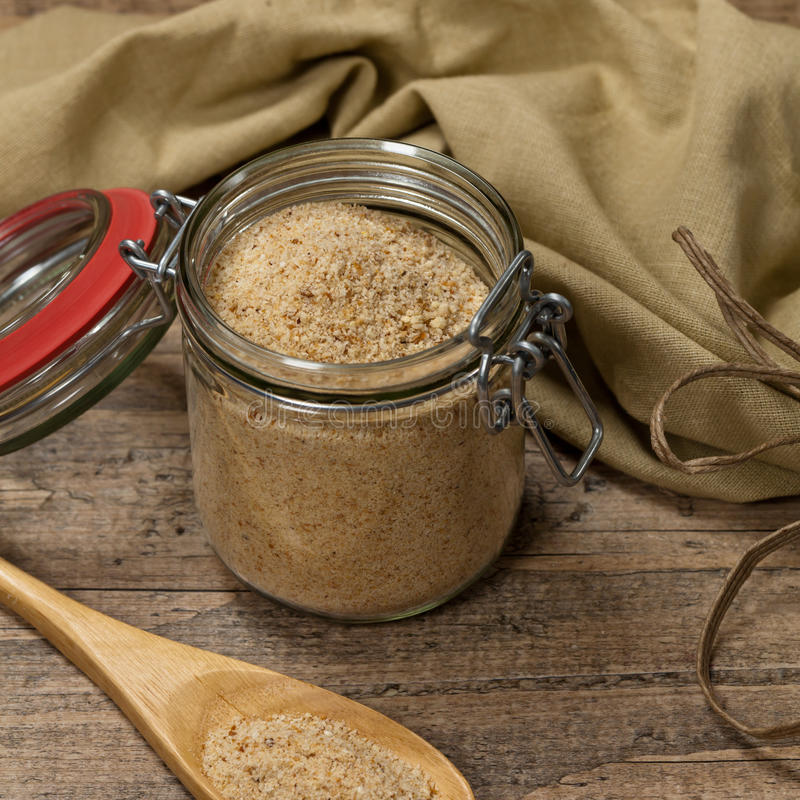 Crumbs ψωμιού στοκ εικόνες με δικαίωμα ελεύθερης χρήσης