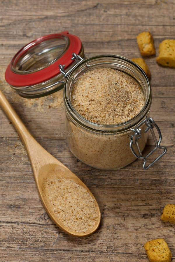 Crumbs ψωμιού στοκ εικόνα με δικαίωμα ελεύθερης χρήσης