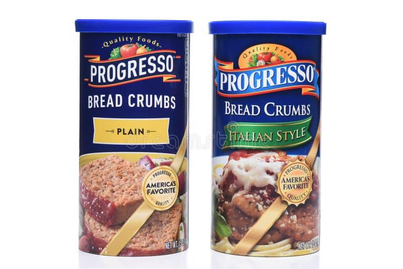 Crumbs van het Progresso Italiaanse en Duidelijke Brood royalty-vrije stock foto