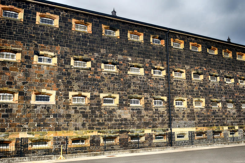 Crumlin Road Jail, Belfast, Northern Ireland. Crumlin Road Jail in Belfast, Northern Ireland stock photography