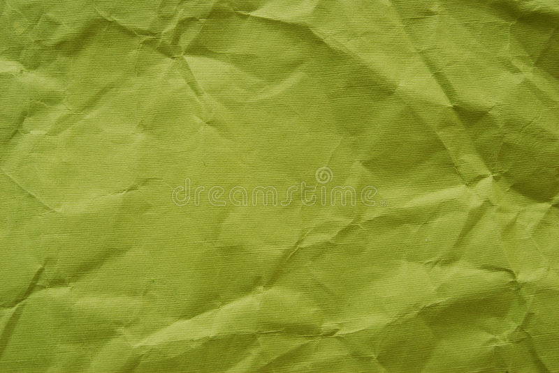 Crumped paper. Close-up of the crumpled rough paper royalty free stock photo