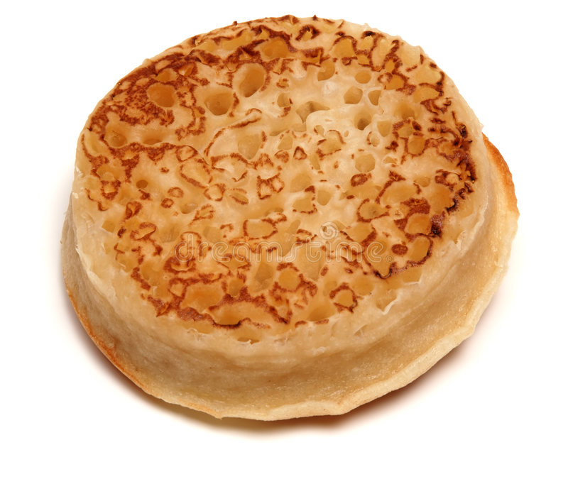 Download Crumpet stock image. Image of english, toast, carbohydrate - 523333