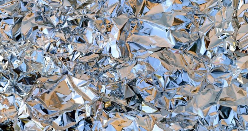 Crumpled Foil royalty free stock photos